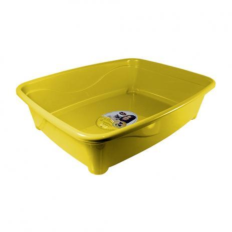 Banheira Furacão Pet Classic para Gatos - Amarelo