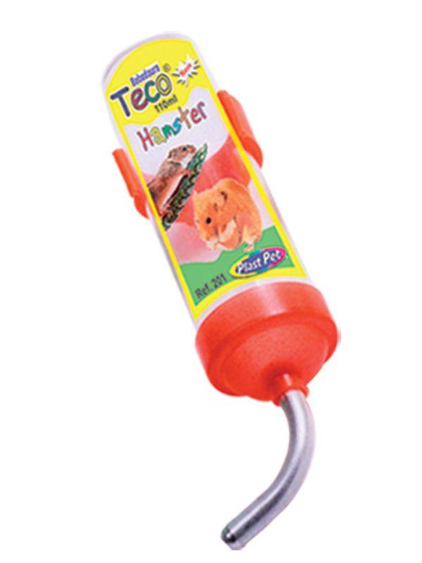 Bebedouro Plastpet Teco para Hamster - Laranja