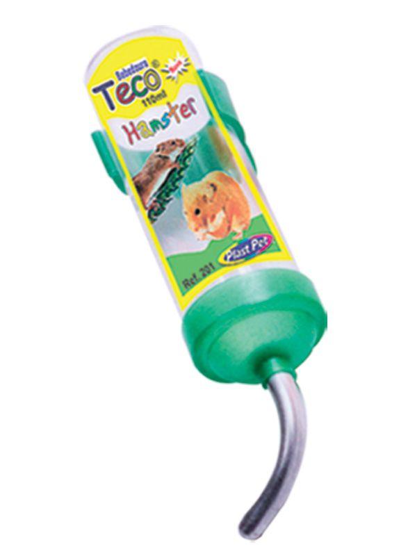 Bebedouro Plastpet Teco para Hamster - Verde
