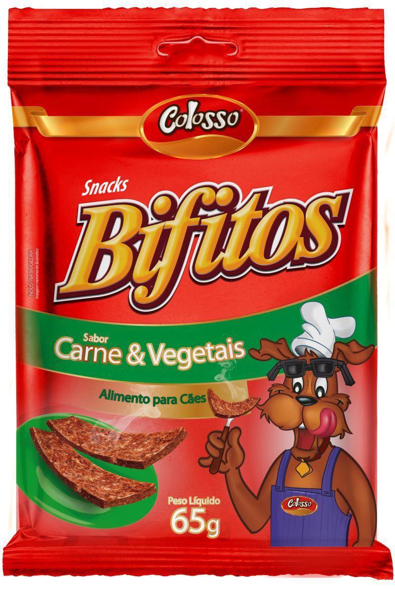 Bifitos Colosso Carne Vegetais 65 Grs