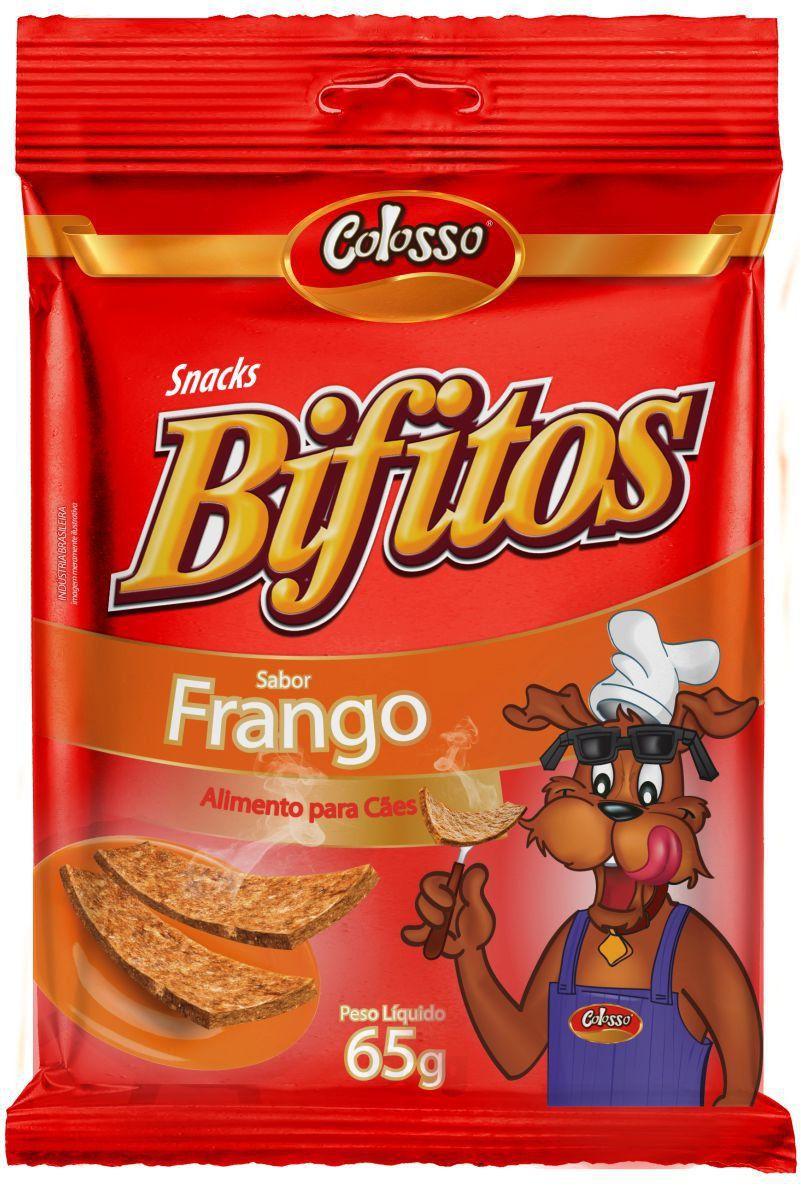 Bifitos Colosso Frango 65 Grs