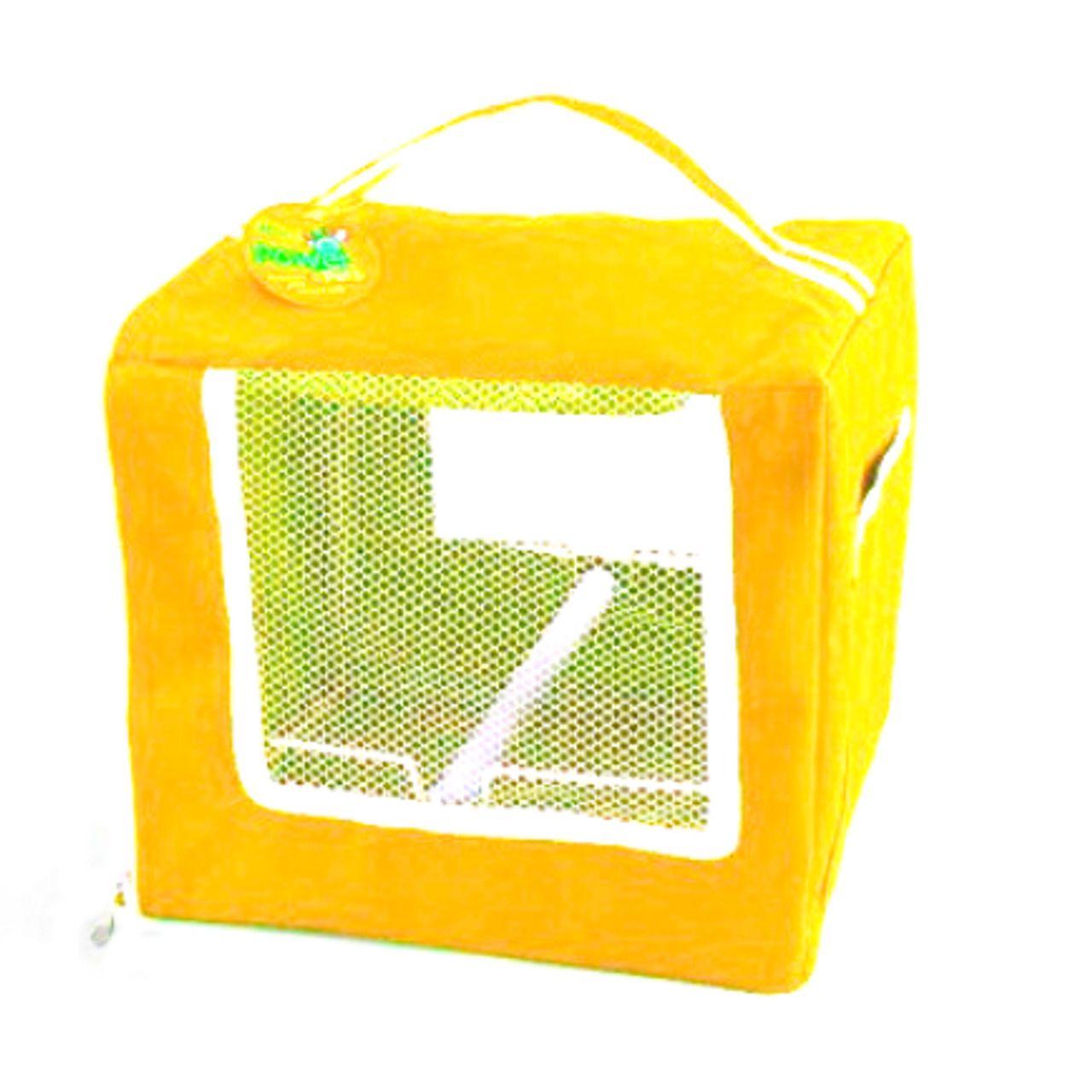 Bolsa de Transporte Paiol do Bicho para Calopsitas - Amarelo