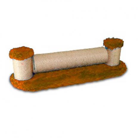 Brinquedo Arranhador Yanpet Gira Gira - Marrom Claro