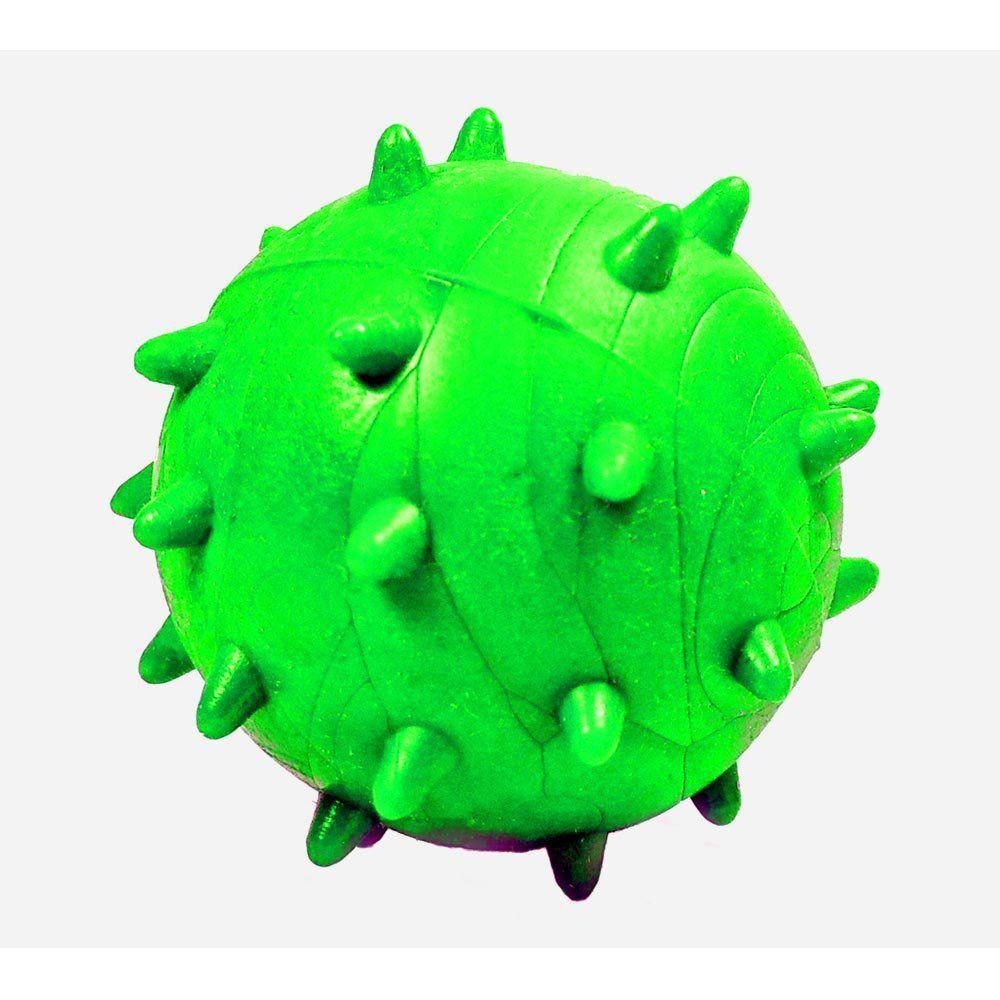 Brinquedo Furacão Pet Bola Maciça Mamoninha de 45 mm - Verde