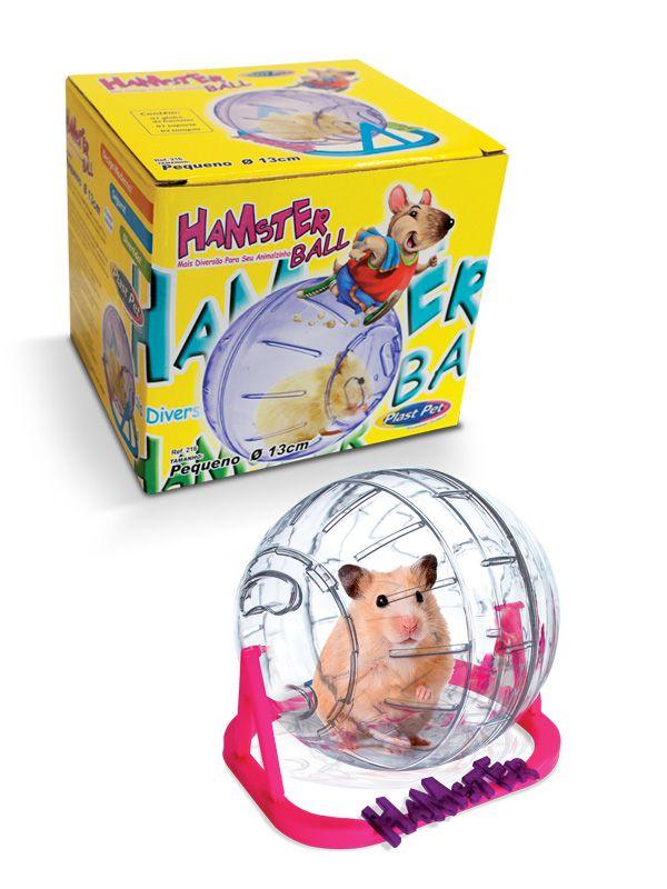 Brinquedo Globo de Hamster Plastpet
