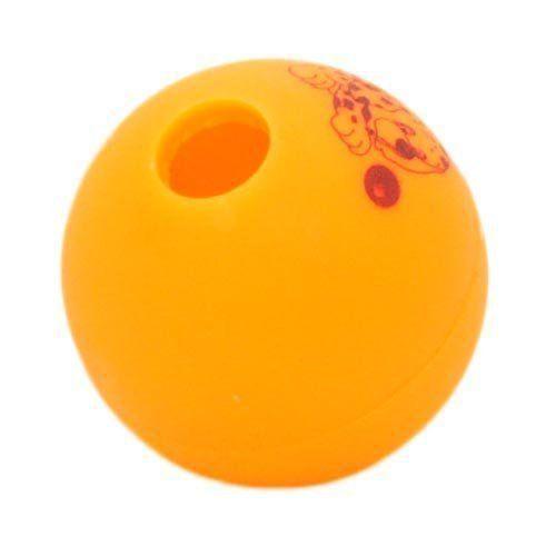 Brinquedo Mordedor Lider Bola Adestramento - Laranja