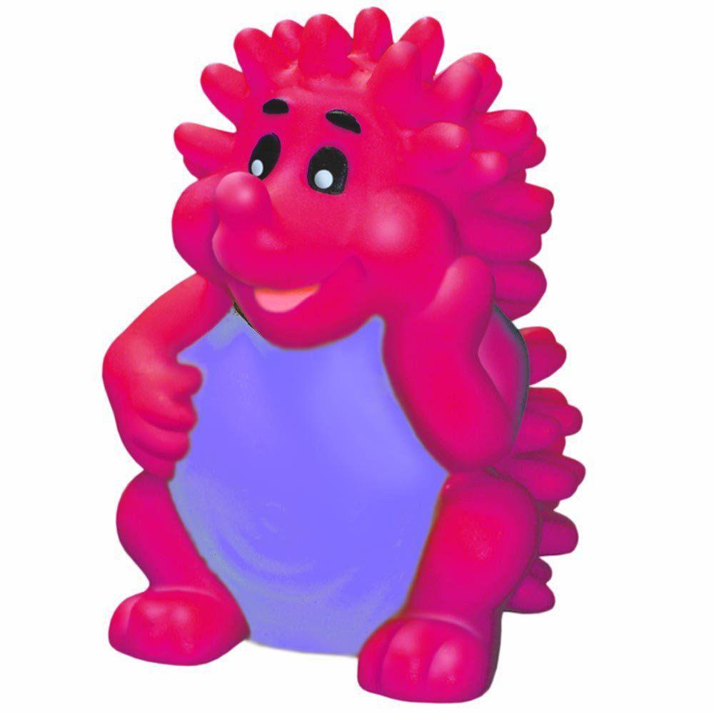 Brinquedo Mordedor Lider Porco Espinho - Rosa