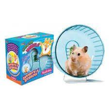 Brinquedo Plastpet Rodinha para Hamster com Tag