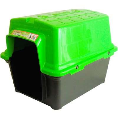 Casinha Furacão Pet de Plástico - Verde
