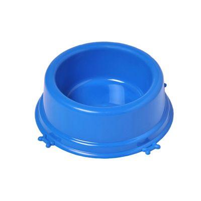 Comedouro Christino Caes Perolizado Filhote 350 Ml Azul Embalagem 5 unidades