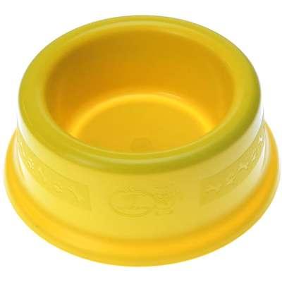 Comedouro Furacão Pet de Plástico - Amarelo