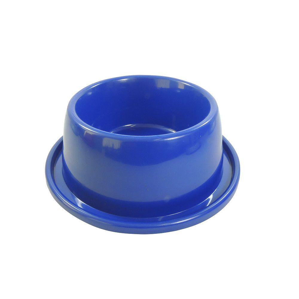 Comedouro Furacão Pet de Plástico Antiformiga - Azul