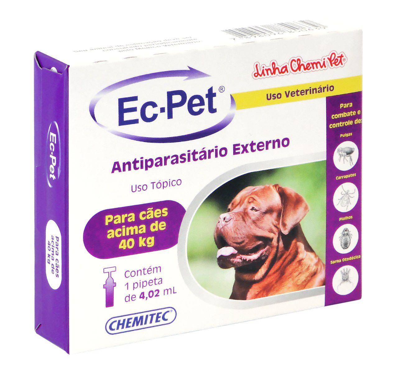 Ec-Pet 4,02 Ml Acima De 40Kg