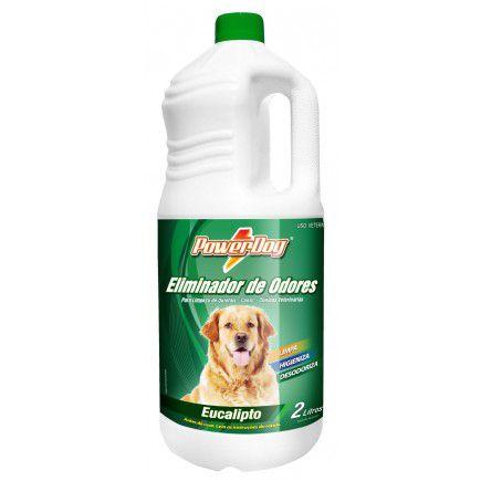 Eliminador De Odores Powerdog Eucalipto 2 Lts