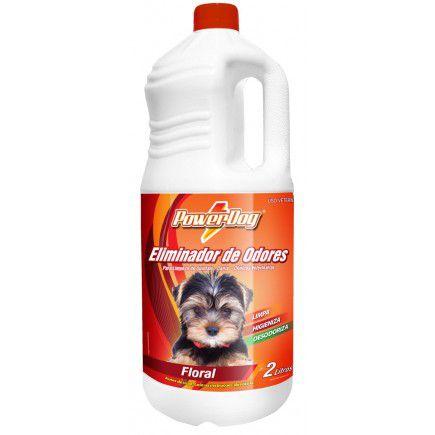 Eliminador De Odores Powerdog Floral 2 Lts