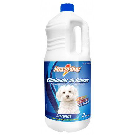 Eliminador De Odores Powerdog Lavanda 2 Lts