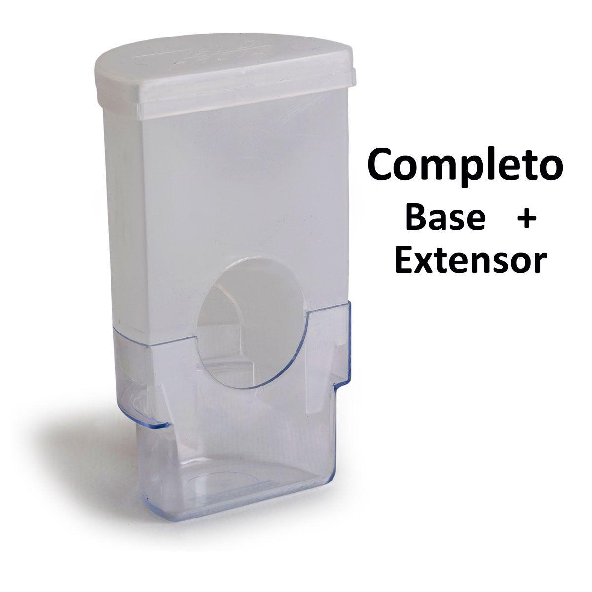 EXTENSOR DE SEMENTES com base  COM. MEIA - LUA  *completo* (Embalagem c/ 12 unid.)