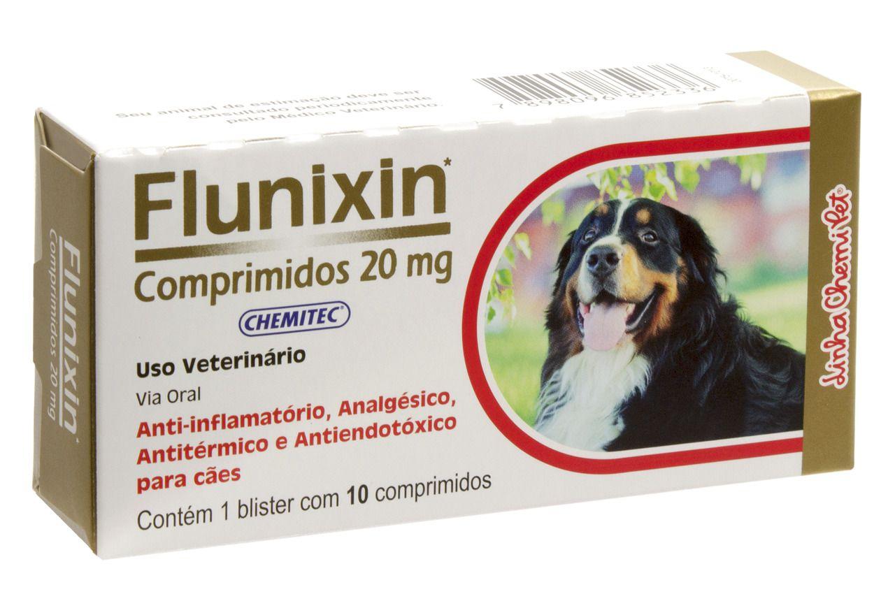 FLUNIXIN 20 MG C/10 COMPRIMIDOS