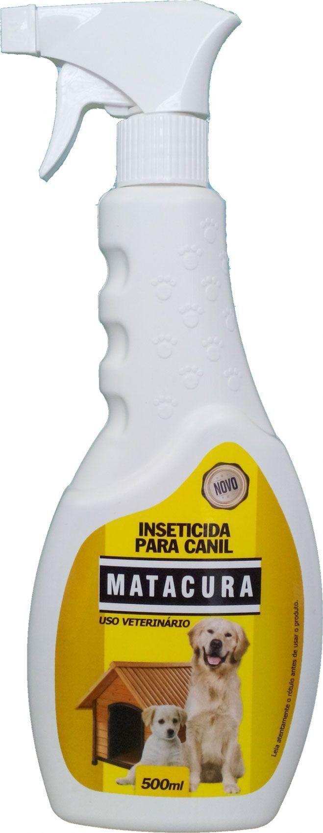 Inseticida Matacura em Spray para Canil - 500 mL