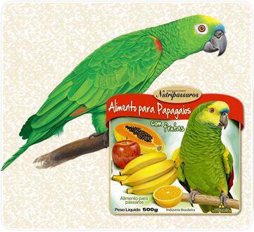 Mist Papagaio C/Frutas Nutrip 10 Kg