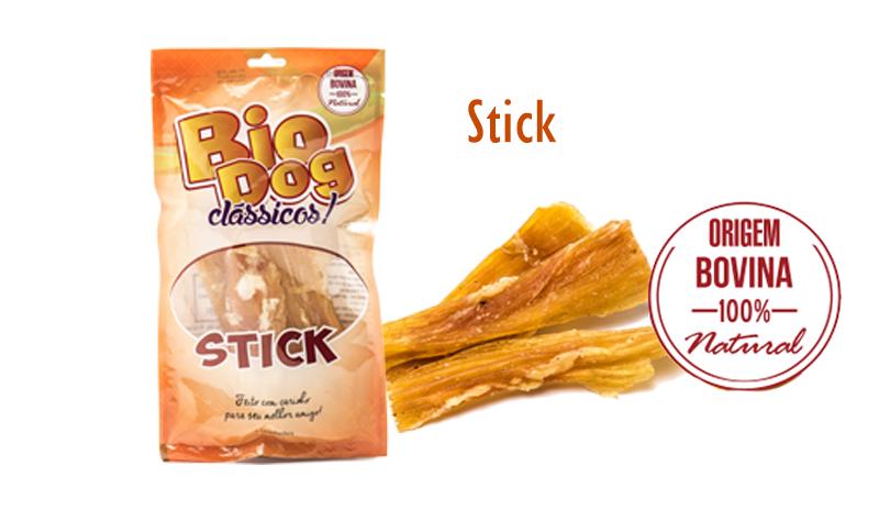 Petiscos BioDog Clássicos Stick - 3 Unidades