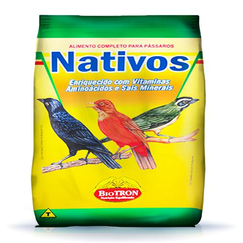 Ração Biotron Pássaros Nativos 5 Kg