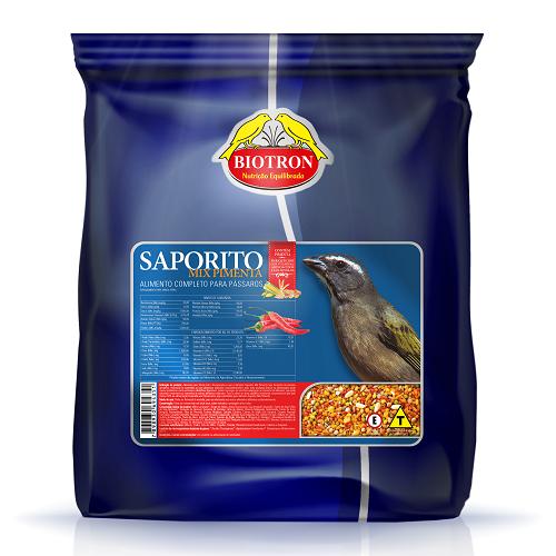 Ração Biotron Saporito Mix Pimenta 5 Kg