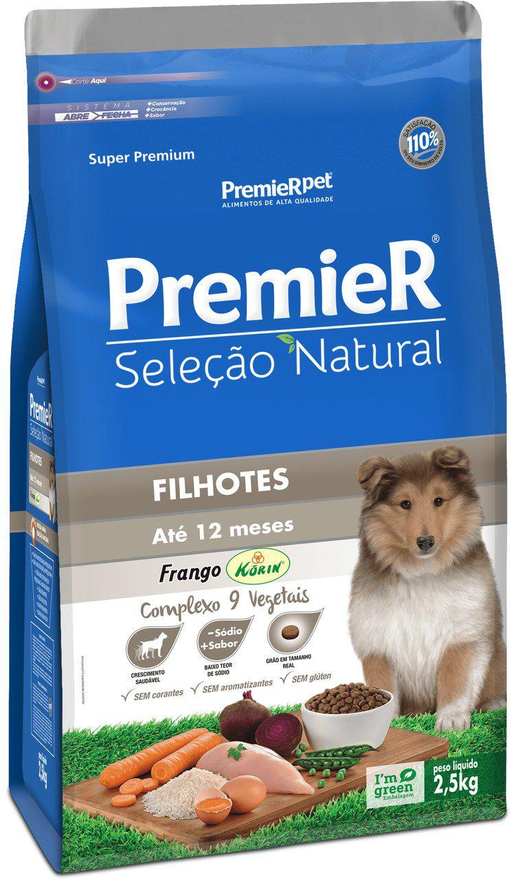 Ração Premier Cães Filhotes Seleção Natural