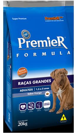 Ração Premier Formula de Frango para Cães Adultos de Raças Grandes