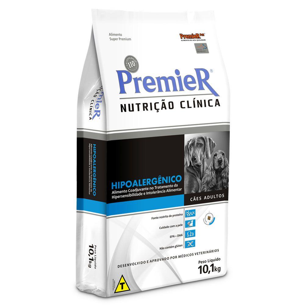 Ração Premier Nutrição Clínica Hipoalergênico para Cães Adultos com Alergia