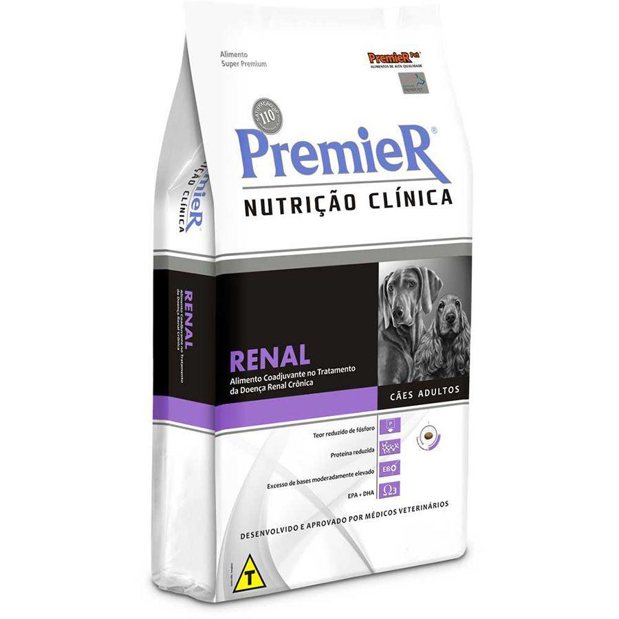 Ração Premier Nutrição Clínica Renal para Cães Adultos com Problema Renal