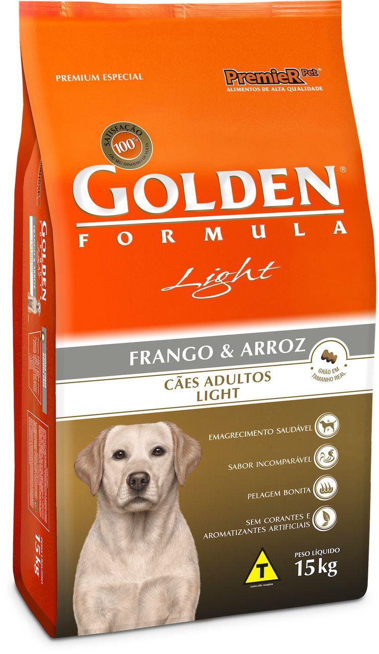 Ração Premier Pet Golden Light Formula para Cães Adultos