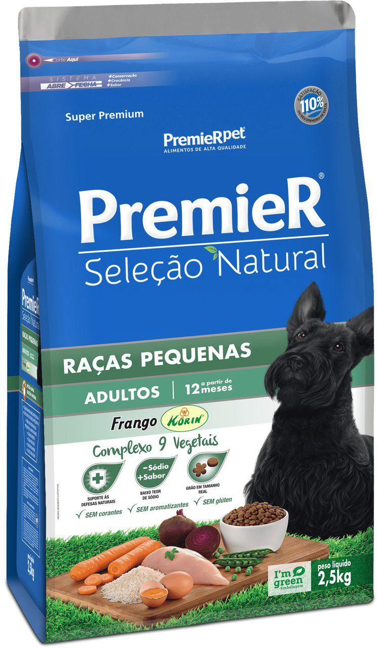 Ração Premier Pet Golden Seleção Natural de Frango para Cães Adultos de Raças Pequenas