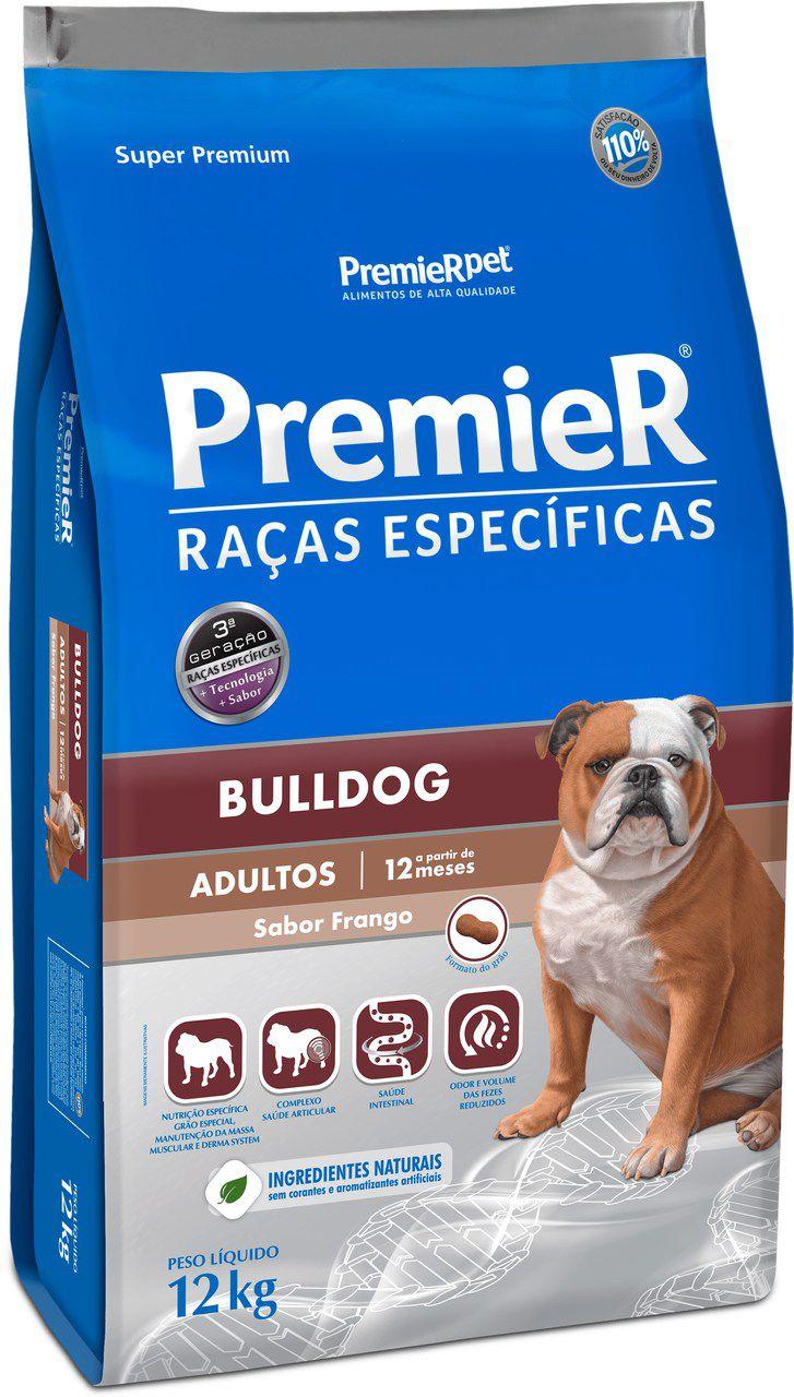 Ração Premier Raças Especificas para Cães Adultos Bulldog