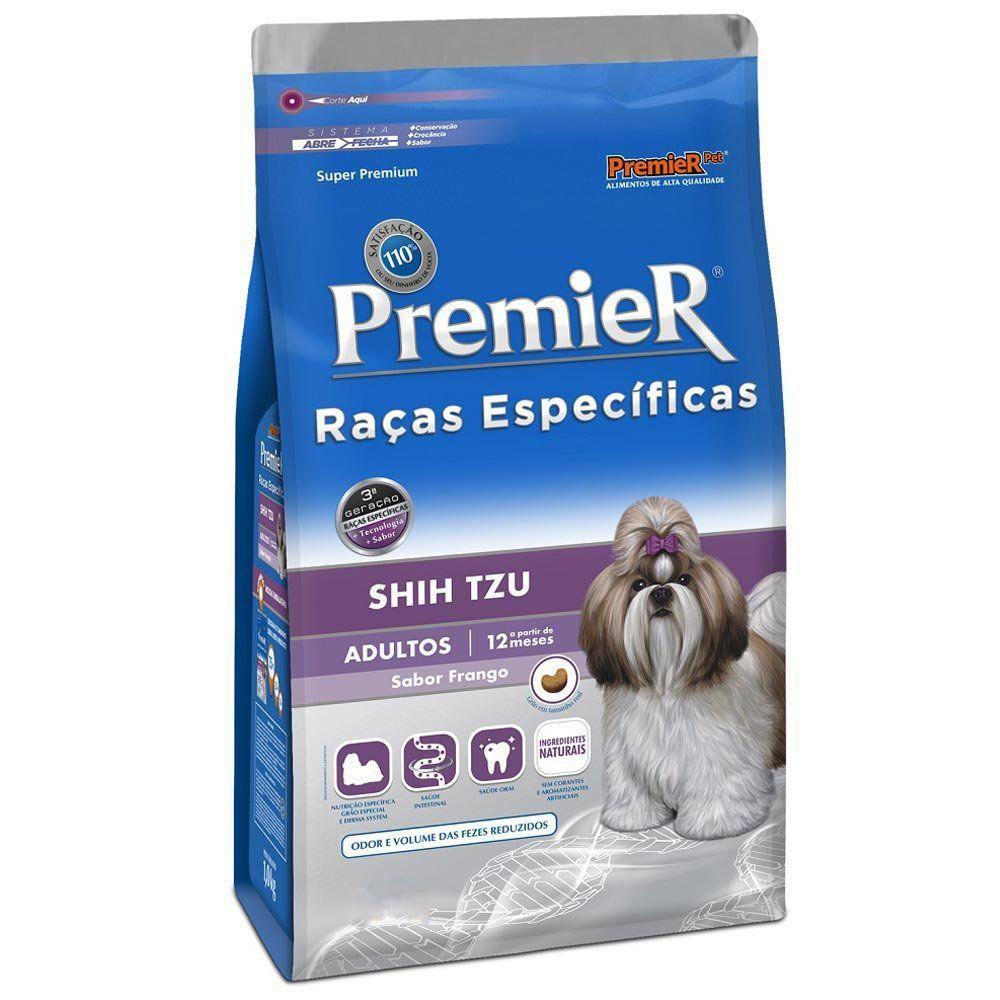 Ração Premier Raças Especificas para Cães Adultos Shih Tzu