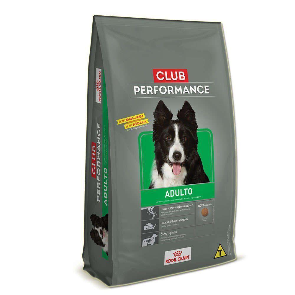 Ração Royal Canin Club Performance Adult para Cães Adultos