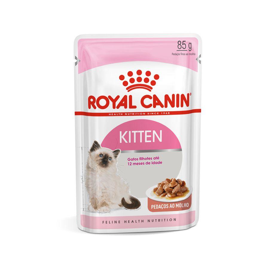 Ração Royal Canin FHN Kitten Instinctive em Sachê para Gatos Filhotes ATÉ 12 Meses - 85 g