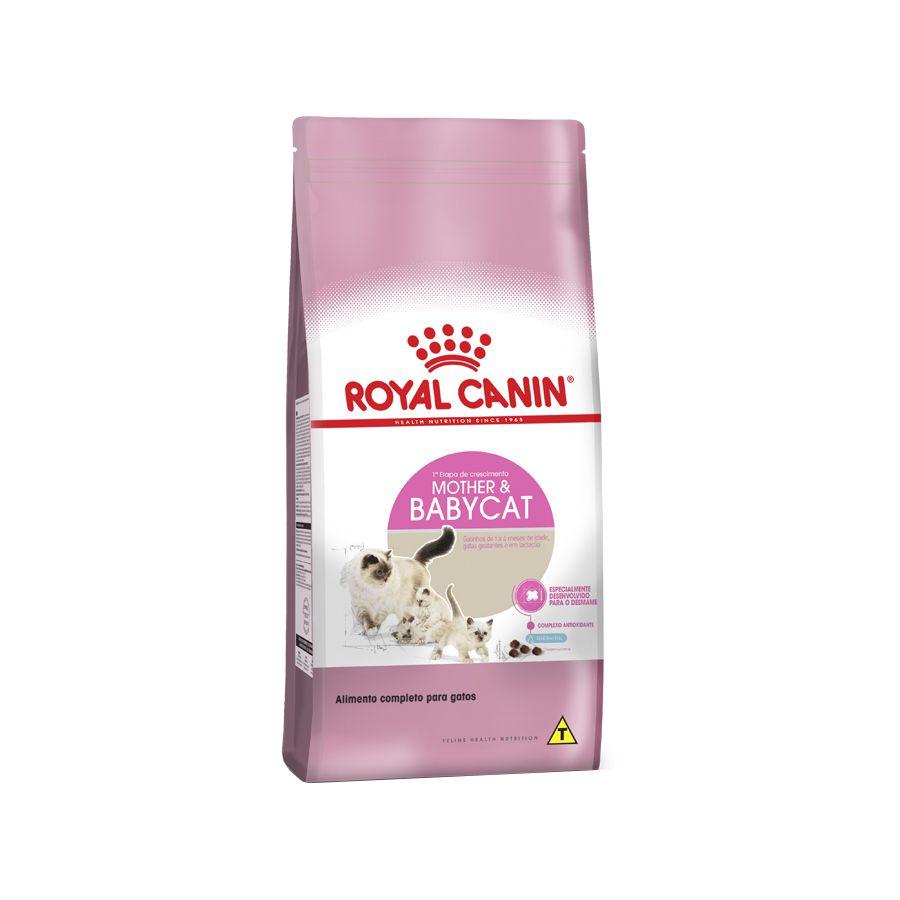 Ração Royal Canin FHN Mother e Baby Cat para Gatos Filhotes de 1 a 4 Meses