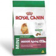 Ração Royal Canin Mini Indoor Ageing 12+ para Cães Idosos de Raças Pequenas mais de 12 Anos