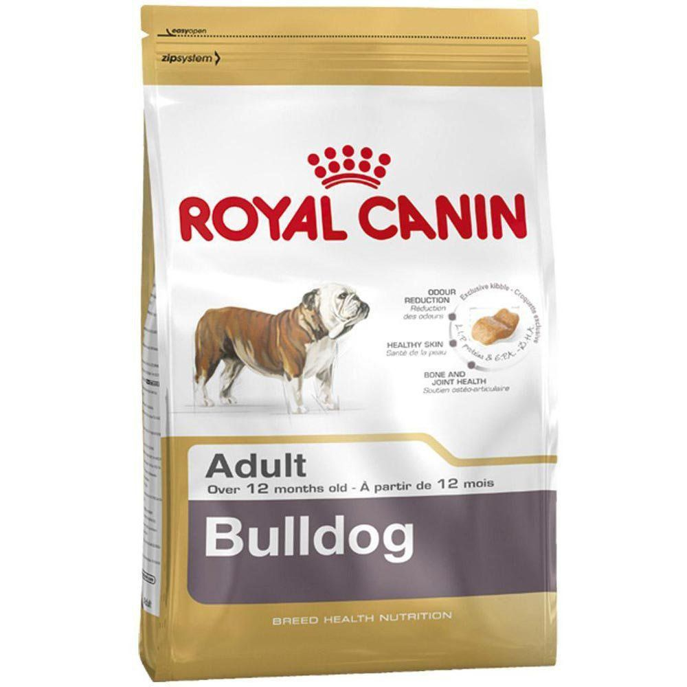 Ração Royal Canin SBN Adult para Cães Adultos da Raça Bulldog