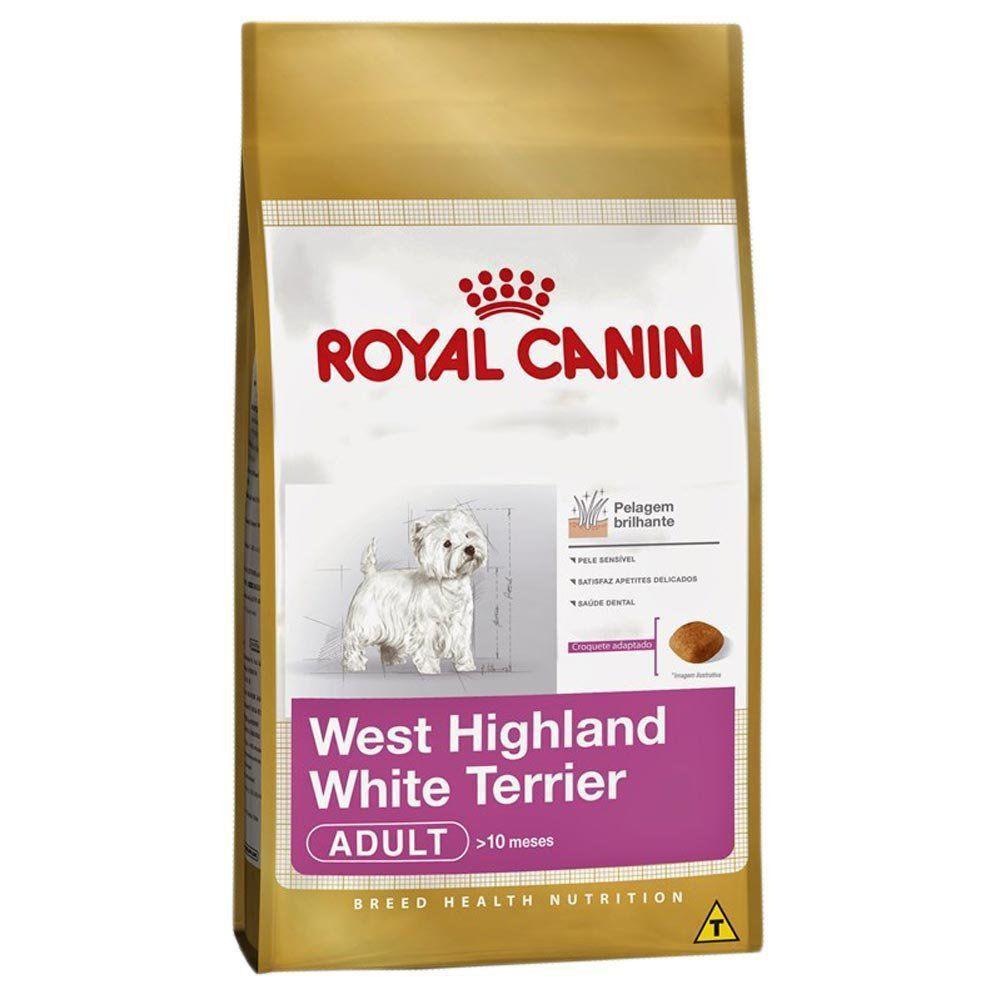 Ração Royal Canin SBN Adult para Cães Adultos da Raça West Terrier