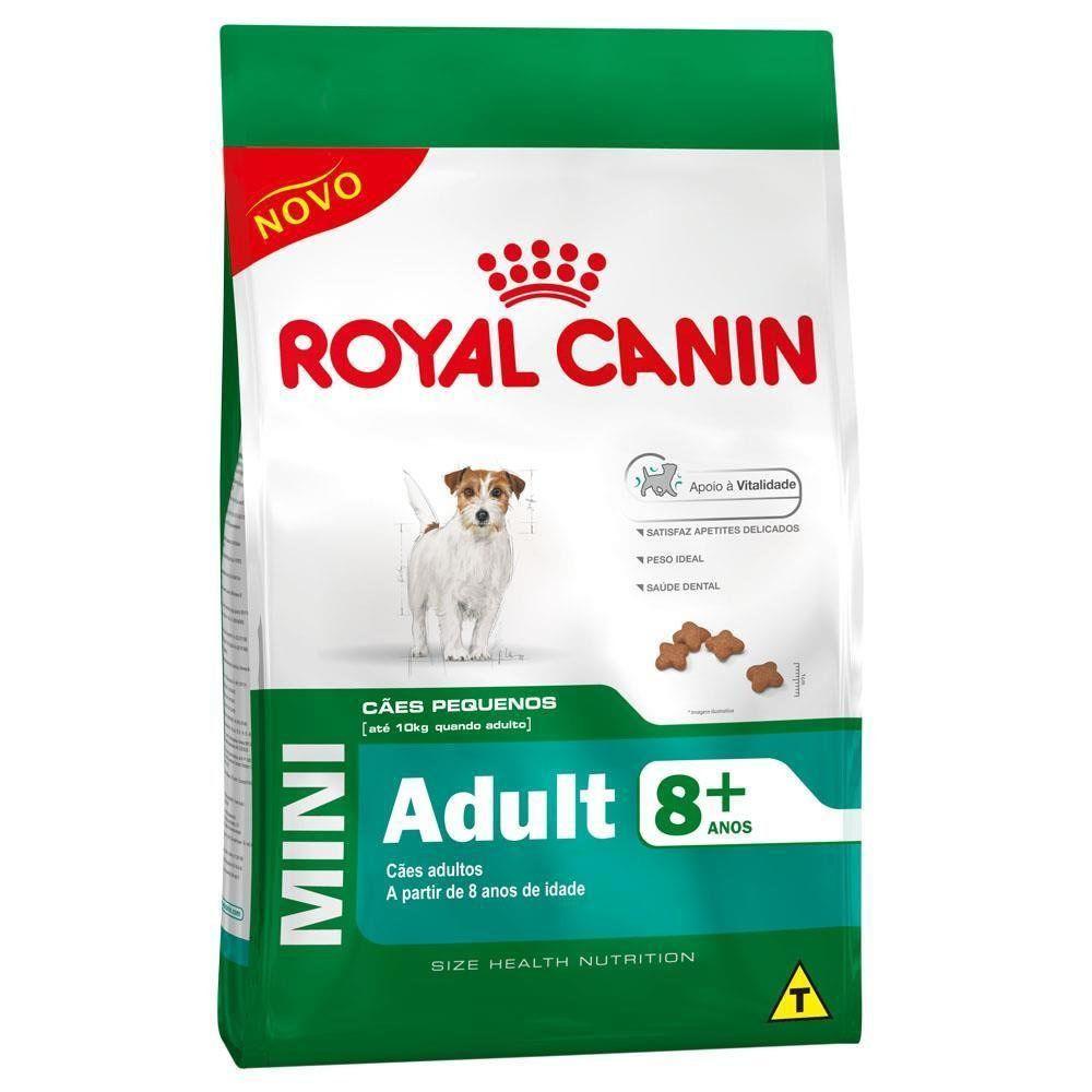 Ração Royal Canin SHN Adult 8+ para Cães Adultos de Raças Pequenas Acima de 8 Anos