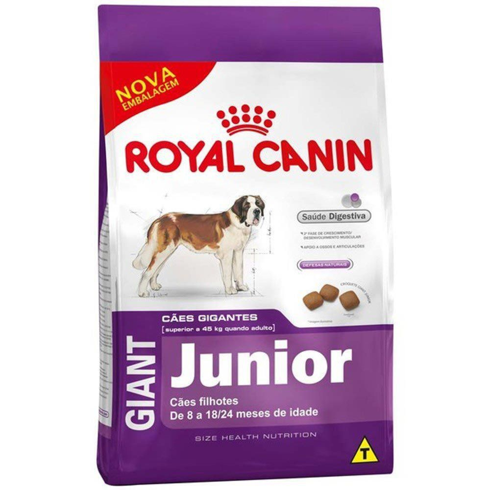 Ração Royal Canin SHN Giant Junior para Cães Filhotes de Raças Gigantes de 8 a 24 Meses