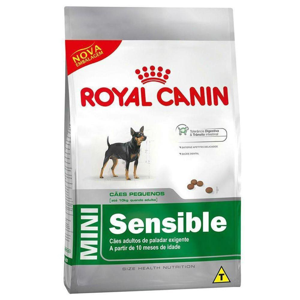 Ração Royal Canin SHN Mini Sensible para Cães Adultos de Raças Pequenas de Paladar Sensível