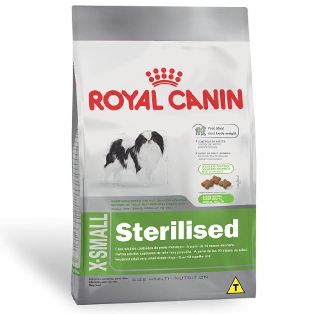 Ração Royal Canin SHN X-Small Adult para Cães Adultos de Raças Mini