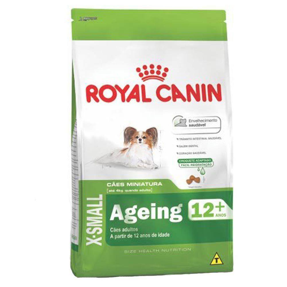 Ração Royal Canin SHN X-Small Ageing 12+ para Cães Idosos de Raças Mini com mais de 12 Anos