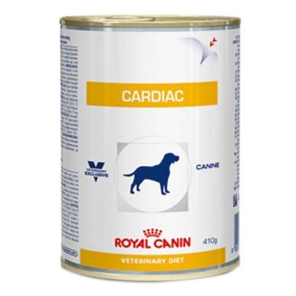 Ração Royal Canin Veterinary Diet Cardiac em Lata de Cães Adultos com Problemas Cardíacos - 410 g
