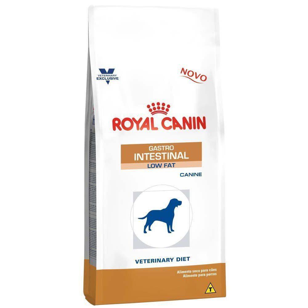 Ração Royal Canin Veterinary Diet Gastro Intestinal Low Fat de Cães Adultos Baixa Gordura