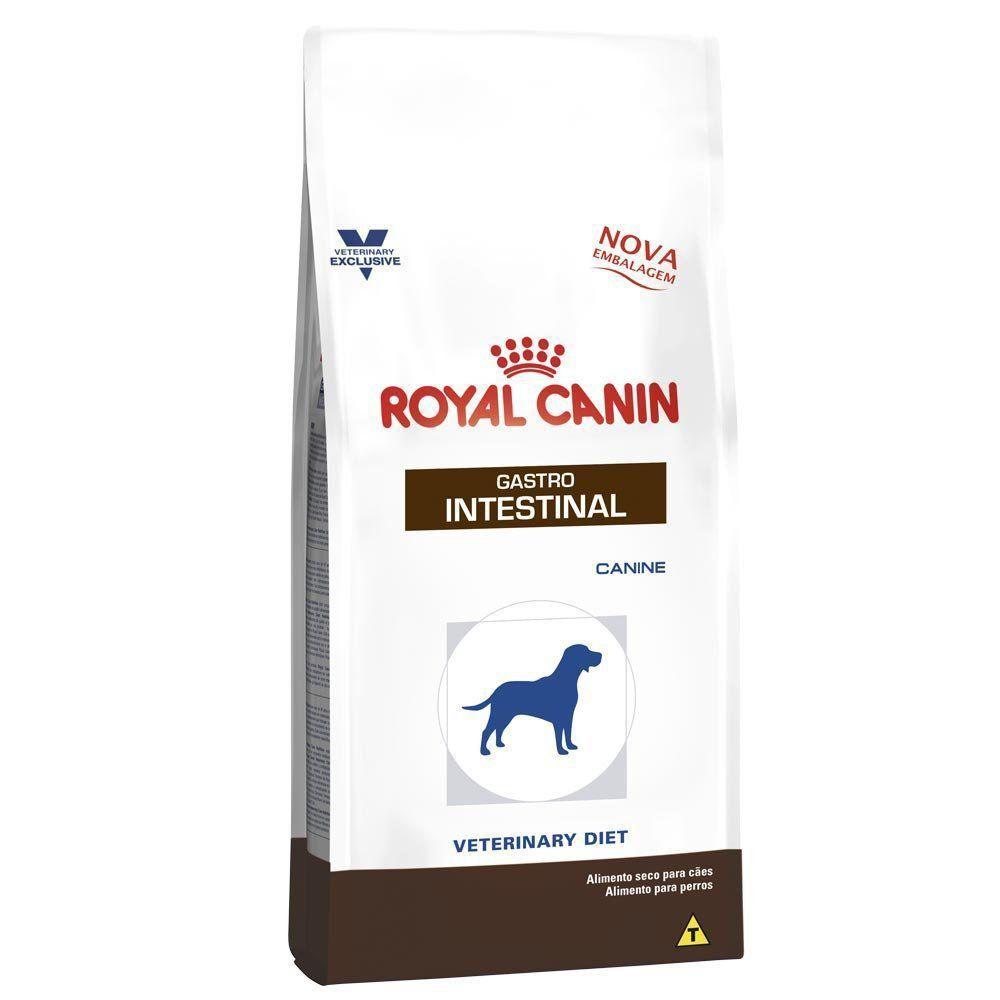 Ração Royal Canin Veterinary Diet Gastro Intestinal para Cães Adultos com Doenças Intestinais