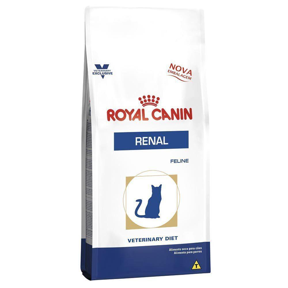 Ração Royal Canin Veterinary Diet Renal para Gatos Adultos com Insuficiência Renal